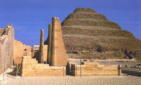 La pyramide de Saqqarah ou la pyramide à degrès Sakkarah