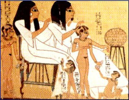 Daily life in the ancient Egypt