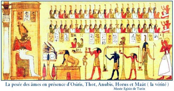 Le secret caché des pyramides d'Égypte révélé Osirisjuge