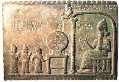 Dieux du Panthéon dans SUMERIENS shamash