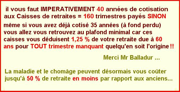 pension minimum de retraite